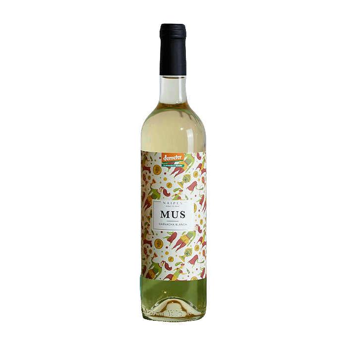Wine Naipes Mus Garnacha Blanca 2018