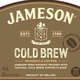 Spirits Jameson Irish Whiskey Cold Brew Limited Edition