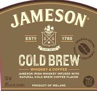 Spirits Jameson Irish Whiskey Cold Brew Limited Edition