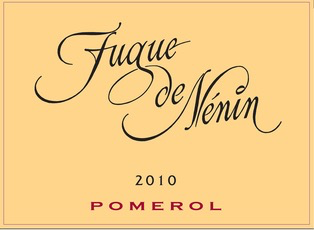 Wine Chateau Nenin, Fugue De Nenin Pomerol 2010