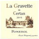 Wine La Gravette de Certan Pomerol 2015