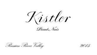 Wine Kistler Pinot Noir Russian River 2017