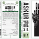 Spirits Askur Yggdrasil London Dry Gin 1L
