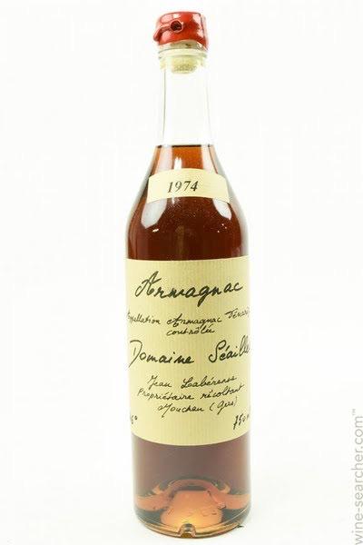 Spirits Domaine Seailles, Armagnac-Tenareze 1988