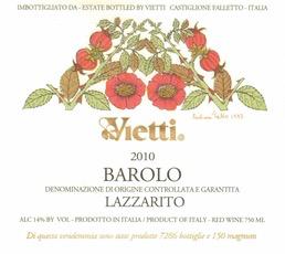 Wine Vietti Barolo Lazzarito 2016