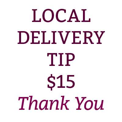 Local Delivery Tip $15