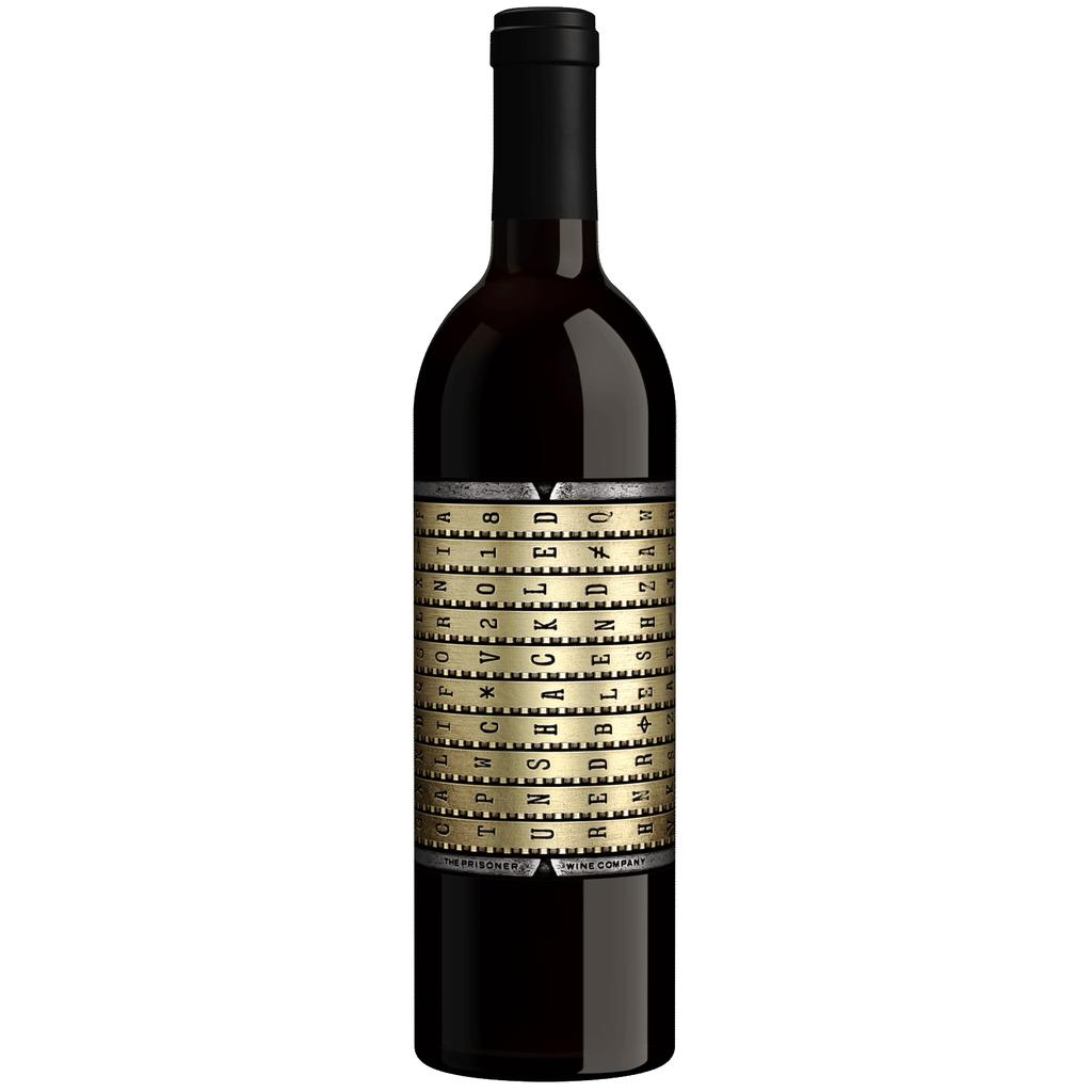 Wine Unshackled Red Blend, The Prisoner Wine Company
