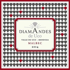 Wine Bodegas Diamandes de Uco Malbec Valle de Uco 2015