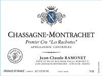 Wine Jean Claude Ramonet Chassagne Montrachet Premier Cru Les Ruchottes White 2017