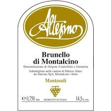 Wine Altesino Brunello Montosoli DOCG 2015