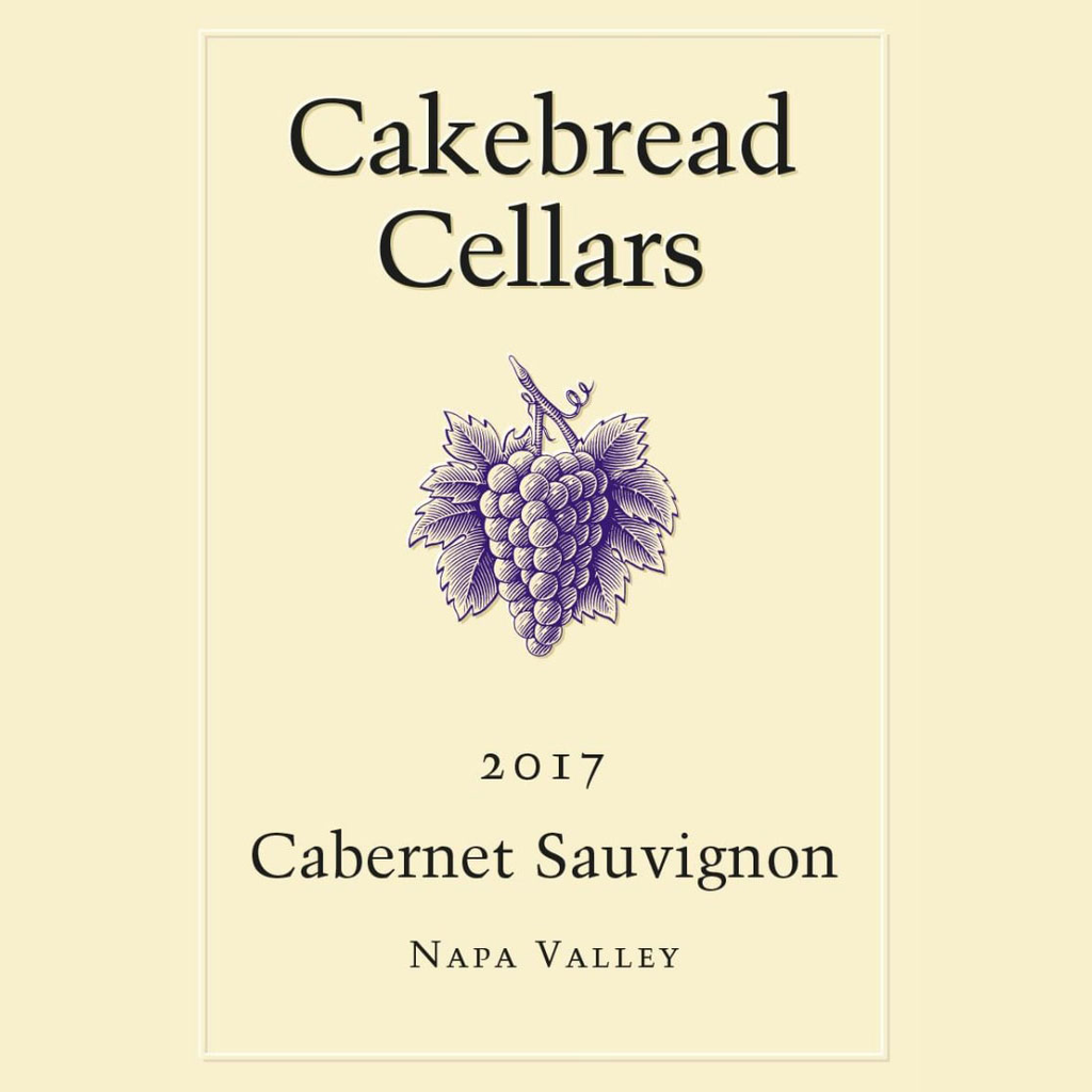 Wine Cakebread Cellars Cabernet Sauvignon Napa Valley 2017