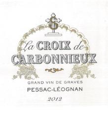 Wine Château Carbonnieux, La Croix de Carbonnieux Blanc 2017