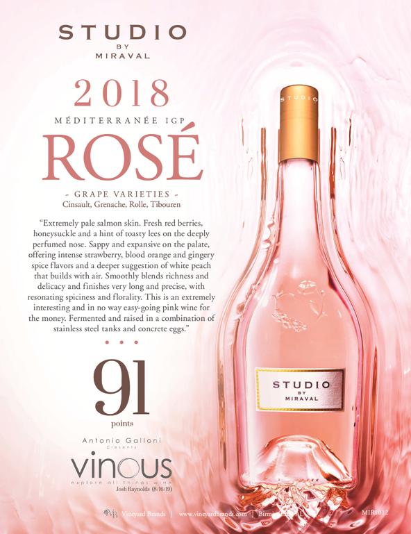 Wine Studio by Miraval Rose 2018