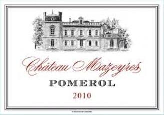 Wine Château Mazeyres Pomerol  2013