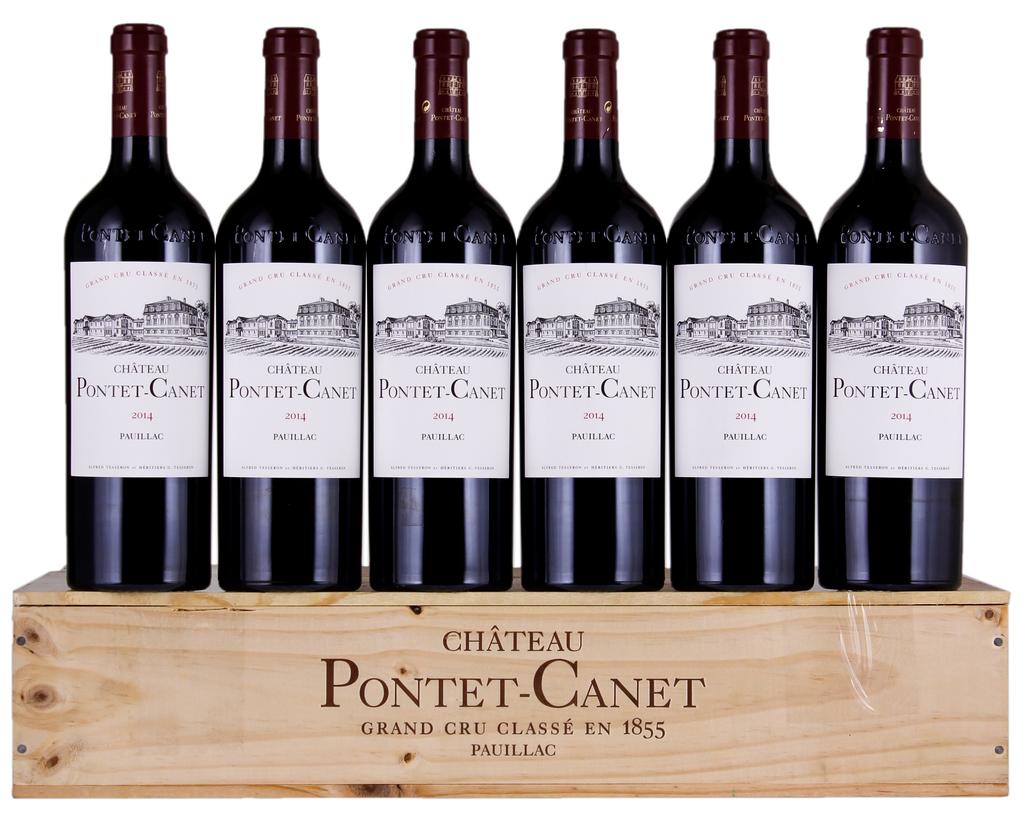 Wine Chateau Pontet Canet Pauillac 2014