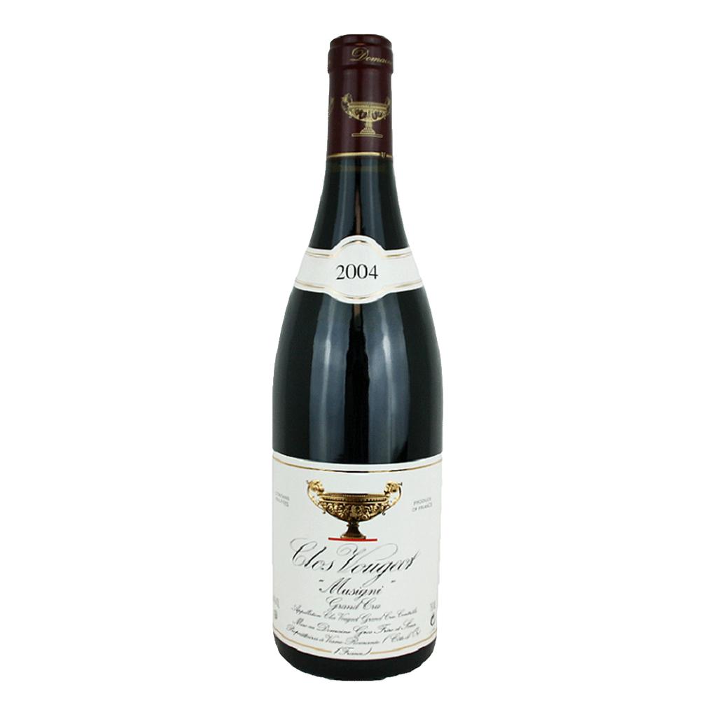 Wine Gros Frere et Soeur Clos Vougeot Grand Cru 2004 3L