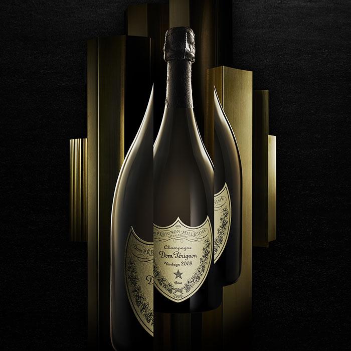 Sparkling Dom Perignon Champagne 2008 1.5L