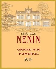 Wine Ch. Nenin Pomerol 2014
