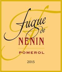 Wine Château Nenin, Fugue de Nénin Pomerol 2015