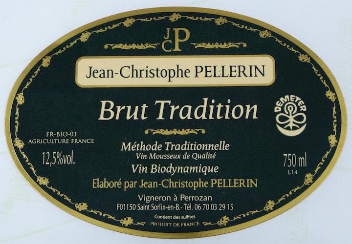 Sparkling Domaine Pellerin Brut Tradition Methode Traditionnelle