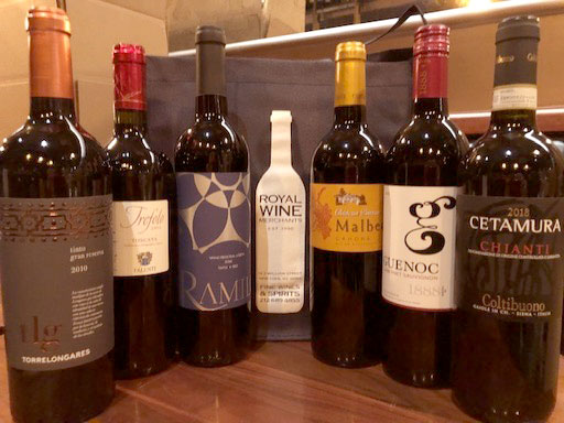 Wine New Arrivals 6 bottles Assorted Classic Red Varietals We Love 6pack
