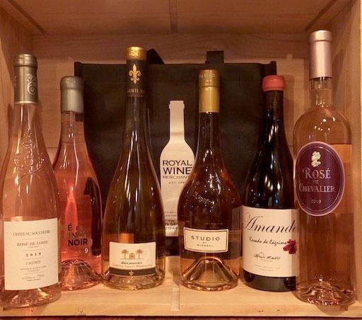 Wine New Arrivals 6 bottles Assorted Rose 6pack