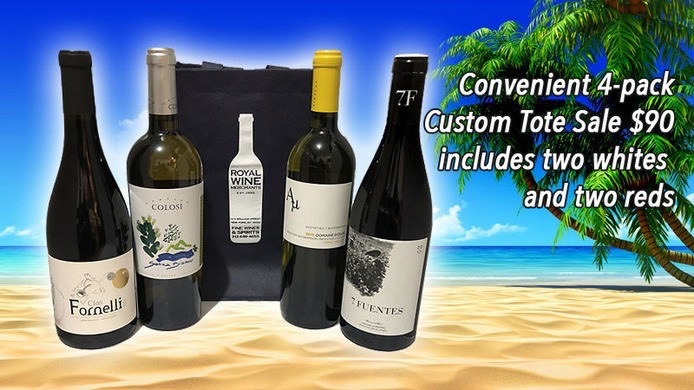 Wine New Arrivals 4 bottles Assorted Island White and Red 4pack
