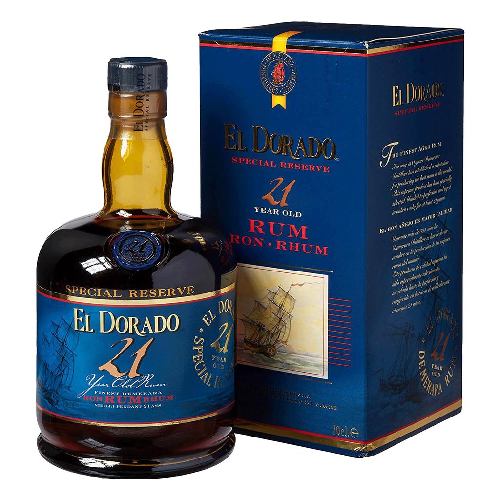 Spirits Special Reserve 21 Year El Dorado Rum