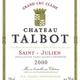 Wine Chateau Talbot 2000