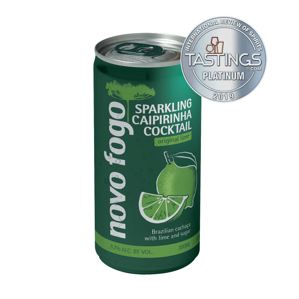 Spirits Novo Fogo, Original Lime Sparkling Caipirinha Cocktail Cans 200ml
