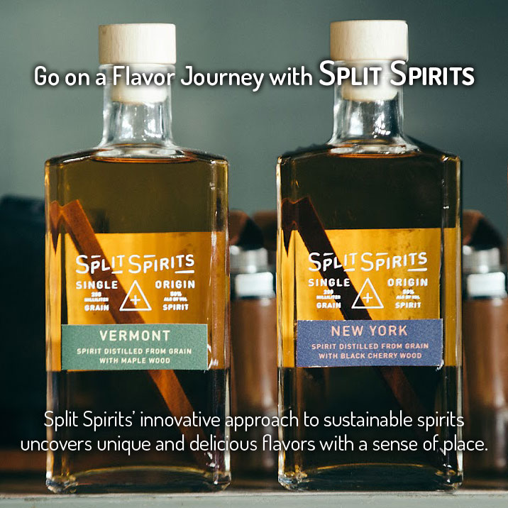 Spirits Split Spirits Vermont Maple Wood Whiskey Single Origin 200ml