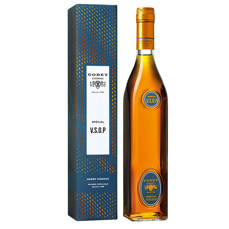 Spirits Godet Cognac VSOP Select Speciale 10 Years Gift Box