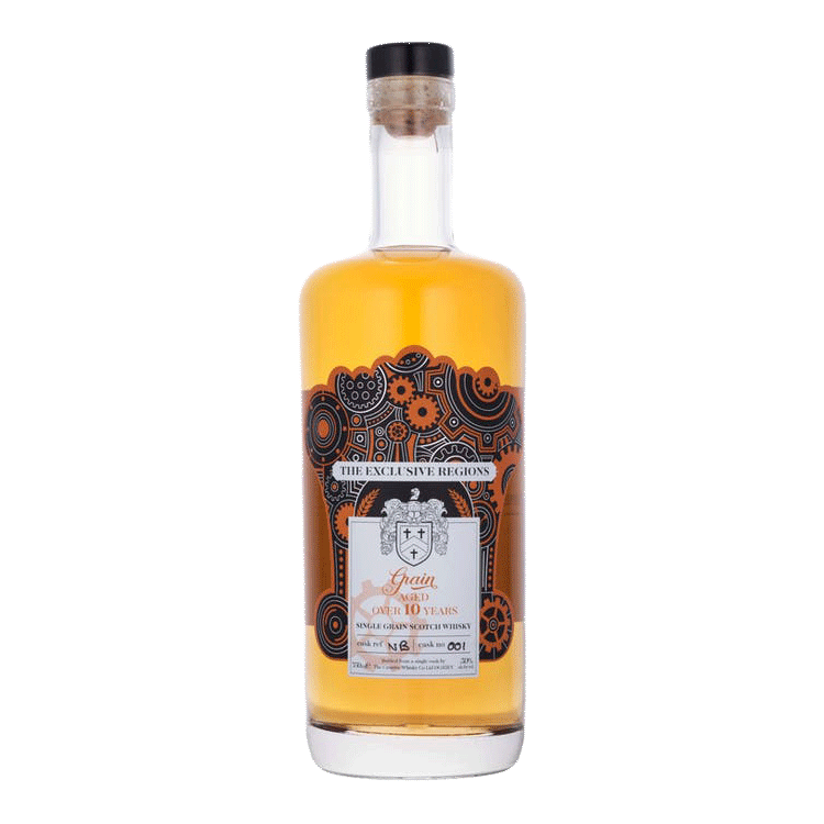 Spirits The Exclusive Regions, Single Grain Scotch Whisky Aged over 10 Years