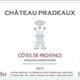 Wine Chateau Pradeaux Cotes de Provence Rose 2019