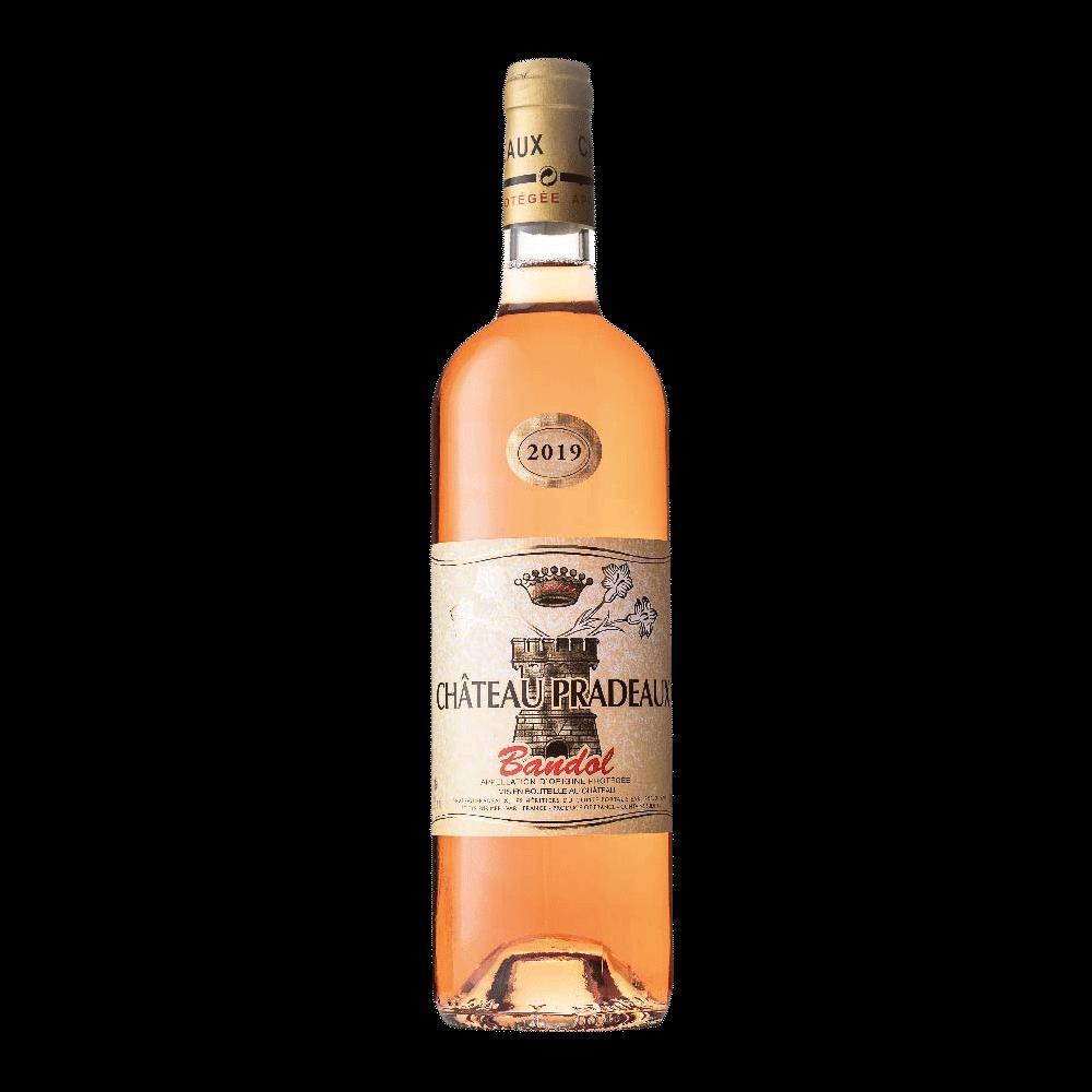 Wine Chateau Pradeaux Bandol Rose 2019