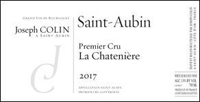Wine Joseph Colin Saint Aubin Premier Cru La Chateniere 2018
