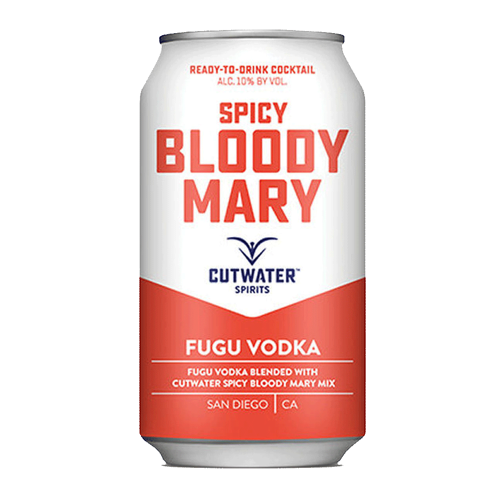 Spirits Cutwater Spicy Bloody Mary Can