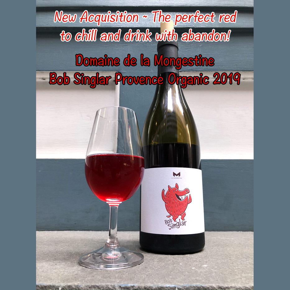 Wine Domaine de la Mongestine Bob Singlar Provence Organic 2019