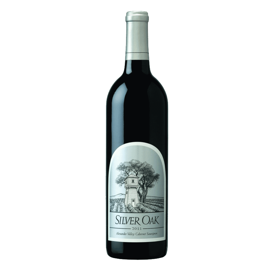 Wine Silver Oak Cabernet Sauvignon Alexander Valley 2015