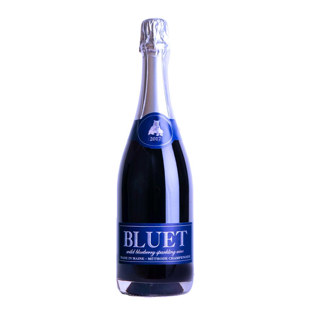 Sparkling Bluet Wild Blueberry Sparkling Methode Champenoise