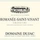 Wine Domaine Dujac Romanee Saint Vivant Grand Cru 2017