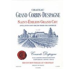 Wine Chateau Grand Corbin Despagne 2014