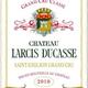 Wine Chateau Larcis Ducasse Saint Emilion Grand Cru Classe 2014