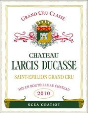 Wine Chateau Larcis Ducasse Saint Emilion Grand Cru Classe 2013