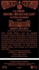 Wine La Croix De Beaucaillou Cuvee Colbert 2015