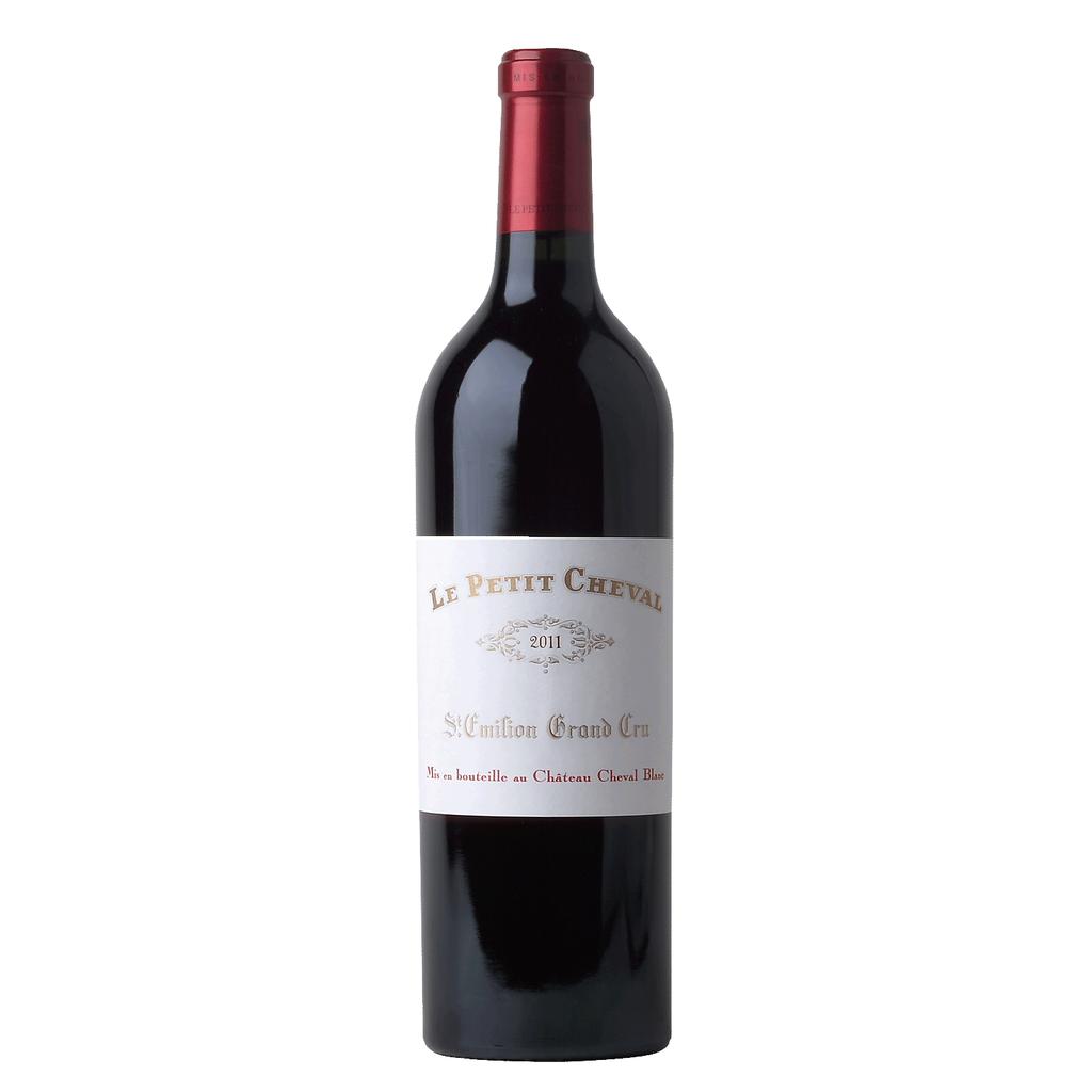 Wine Ch. Cheval Blanc, Le Petit Cheval Saint-Émilion 2011