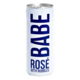Sparkling Babe Rose with Bubbles 250ml can