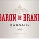 Wine Chateau Brane Cantenac Baron de Brane Margaux 2012