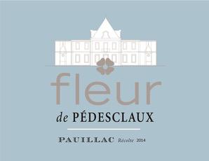 Wine Chateau Pedesclaux Fleur de Pedesclaux 2014