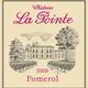 Wine Ch la Pointe Pomerol 2011